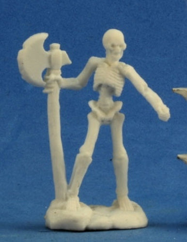 Reaper Miniatures Skeleton Warrior Axeman (3) #77243 Bones D&D RPG Mini Figure