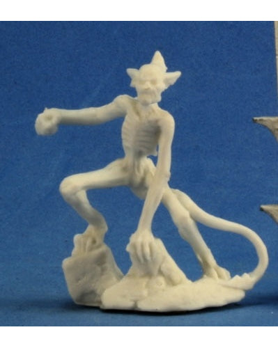 Reaper Miniatures Blood Demon Babau #77258 Bones Unpainted Plastic D&D RPG Mini
