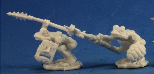Reaper Miniatures Squog Warriors(2) #77268 Bones Plastic D&D RPG Mini Figure