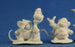 Reaper Miniatures Mousling Druid and Beekeeper #77290 Bones Unpainted Figure