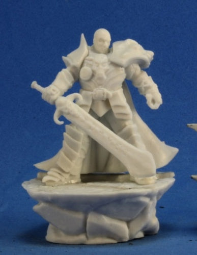 Reaper Miniatures Male Antipaladin #77300 Bones Unpainted Plastic Mini Figure