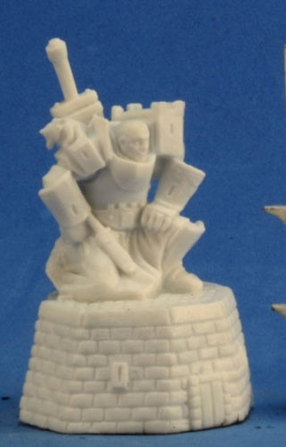 Reaper Miniatures Male Paladin #77303 Bones Unpainted Plastic RPG Mini Figure