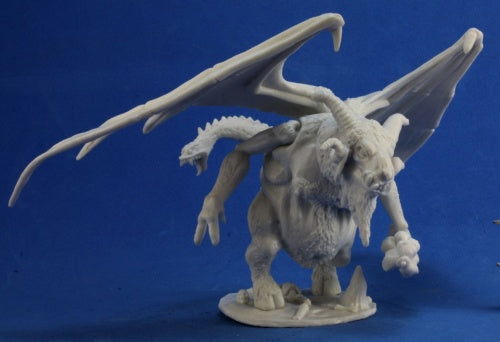 Reaper Miniatures Demon Lord of the Undead #77316 Bones Unpainted Plastic Figure