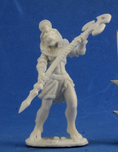 Reaper Miniatures Avatar Of Sekhmet #77340 Bones Unpainted Plastic Mini Figure