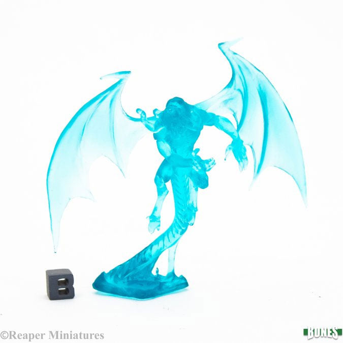 Reaper Miniatures Shadow Demon #77368 Blue Bones Plastic D&D RPG Mini Figure