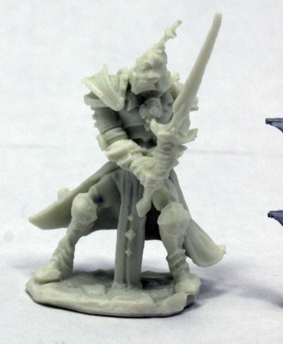 Reaper Miniatures Andras, Evil Warrior #77401 Bones RPG Miniature Figure