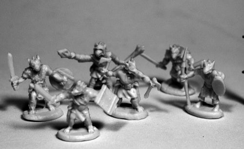 Reaper Miniatures Kobolds (6) #77506 Bones RPG D&D Mini Figure
