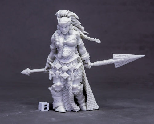 Reaper Miniatures Vanja, Fire Giant Queen (Huge) #77613 Bones Unpainted Plastic