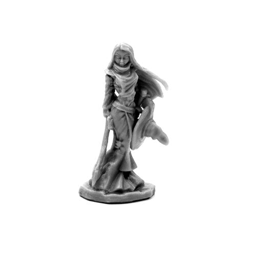 Reaper Miniatures Willow Greenivy, Witch #77659 Bones Unpainted Plastic Figure