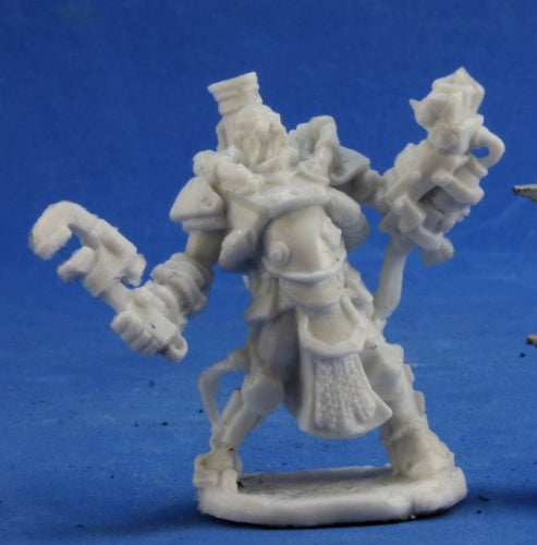 Reaper Miniatures Decker Lugstampf #80031 Chronoscope Bones RPG D&D Mini Figure