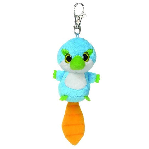 "3"" Tiki Clip-On Keyclip Small Soft Plush Keychain"