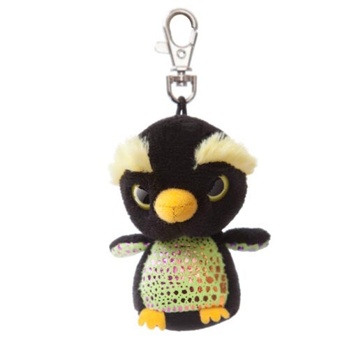 "3"" Macaronee Clip-On Keyclip Small Soft Plush Keychain"