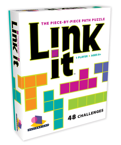 Link It, A Piece-By-Piece Path Puzzle (48 Challenges)