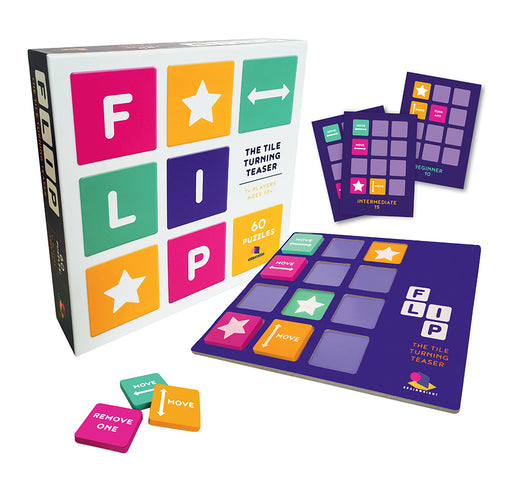 Flip, The Tile Turning Teaser (60 Puzzles)