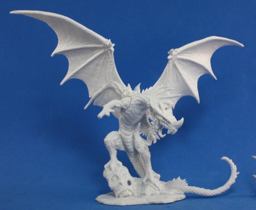 Reaper Miniatures Pathfinder Red Dragon #89001 Bones Plastic D&D RPG Mini Figure