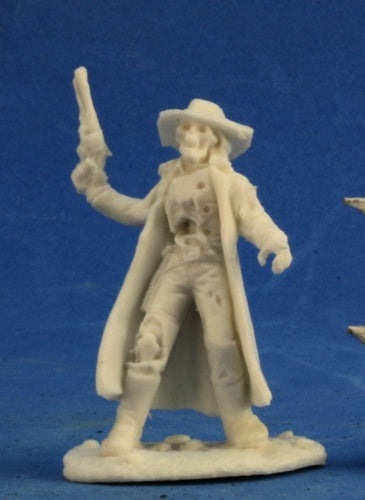 Reaper Miniatures Undead Outlaw #91005 Savage Worlds Unpainted Plastic Figure