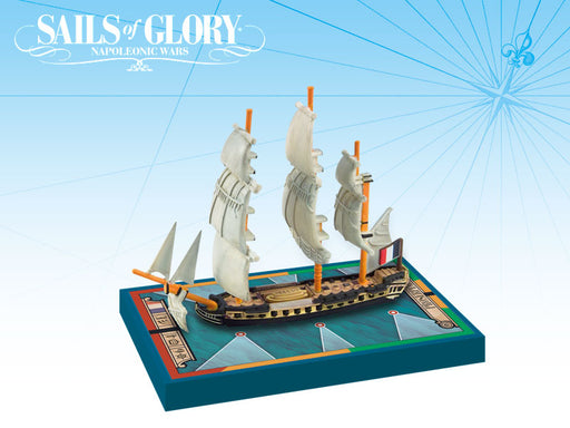 Sails of Glory: Proserpine 1785 French Frigate Ship Pack