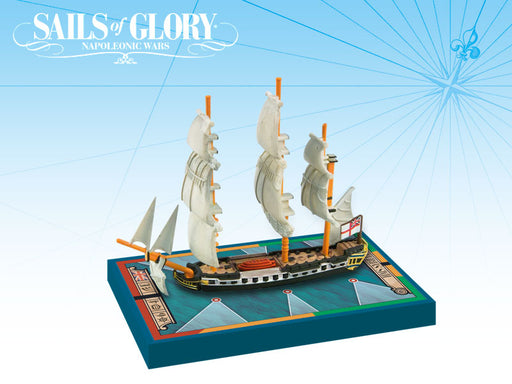 Sails of Glory: HMS Sybille 1794 British Frigate Ship Pack