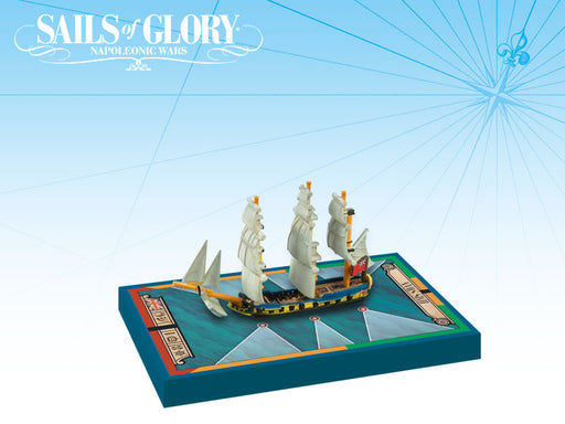 Sails of Glory: HMS Swan 1767 British Ship Sloop Ship Pack