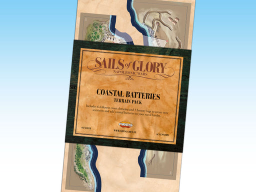 Sails of Glory Coastal Batteries Terrain Pack