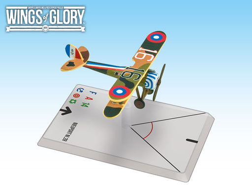 Wings of Glory: Nieuport Ni.28 (Hartney)
