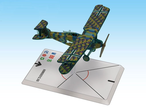 Wings of Glory: Macchi M.5 - Hannover Cl.IIIA (Hager/Weber)