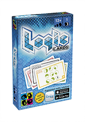 Brain Games Logic Cards: Blue Card Game