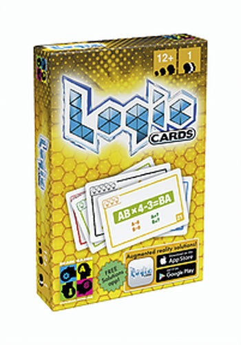Brain Games Logic Cards: Yellow Card Game