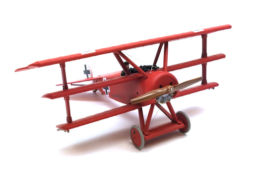 Corgi Detailed Die-Cast 1/48 Scale Fokker Dr.I Dreidecker Red Baron Airplane