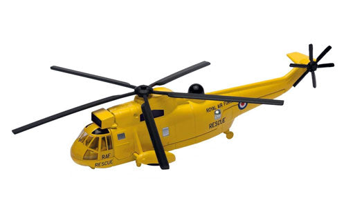 Corgi Westland Sea King Yellow RAF Search & Rescue Helicopter Diecast Model