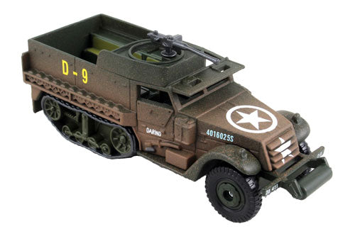 Corgi United States M3A1 Half Track Armoured Personnel Carrier Diecast Model