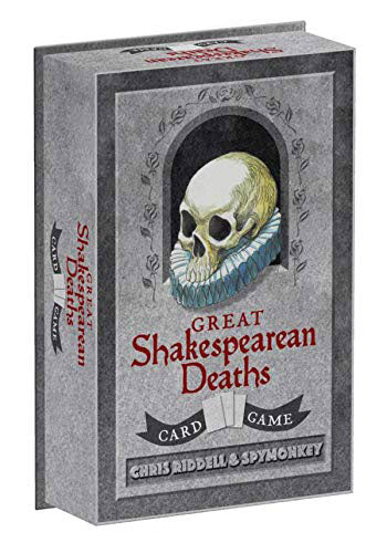 Chronicle Books Great Shakespearean Deaths Card Game
