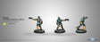 Infinity Yu Jing Kanren Counter-Insurgency with Boarding Shotgun Unpainted Metal