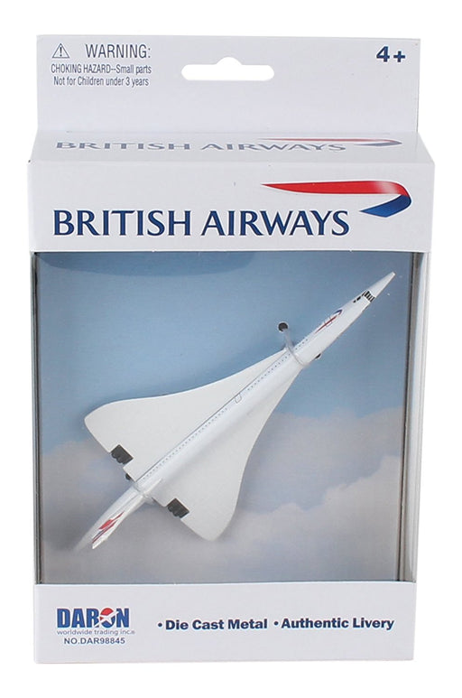 Daron British Airways Concorde Diecast Model Replica Airplane
