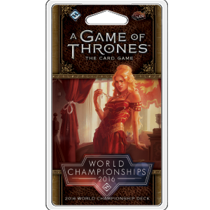 A Game of Thrones LCG: 2nd Edition - 2016 World Championship Joust Deck