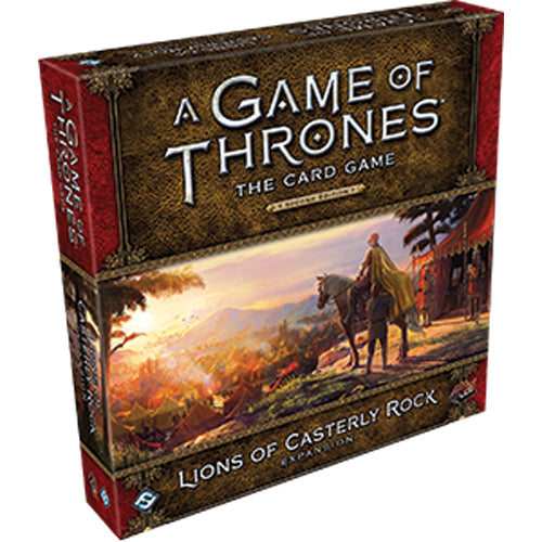 A Game of Thrones LCG: 2nd Edition - Lions of Casterly Rock Expansion