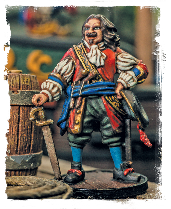 Blood & Plunder: Legendary Figures Henry Morgan Unpainted Metal Miniature
