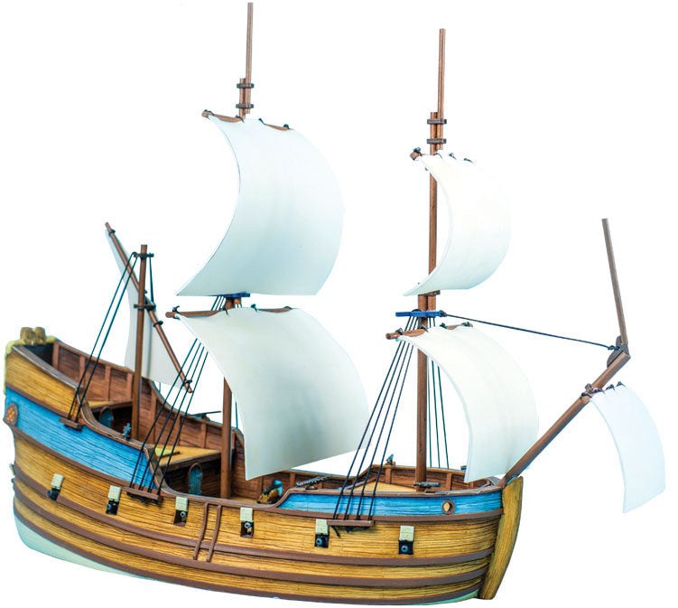 Blood & Plunder Fluyt Ship Unpainted Plastic Model