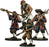 Blood & Plunder European Cannon Crew (4 Pieces) Unpainted Metal Model Figures