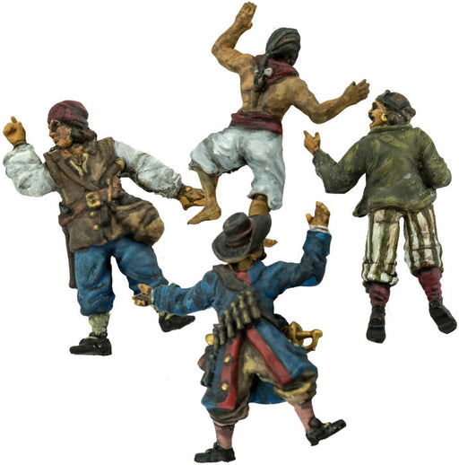 Blood & Plunder Casualty Markers (4 Pieces) Unpainted Metal Model Figures