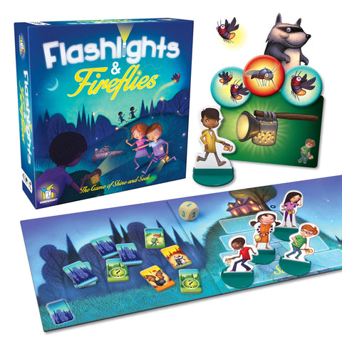 Flashlights & Fireflies The Game of Shine and Seek by Gamewright