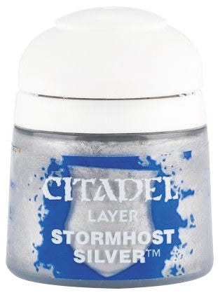 Citadel Layer Paint, 12ml Flip-Top Bottle - Stormhost Silver