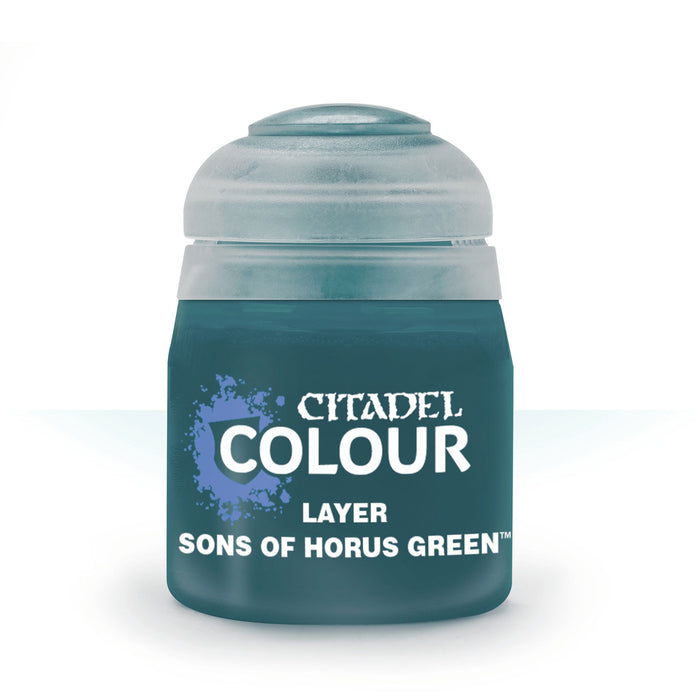 Citadel Layer Paint, 12ml Flip-Top Bottle - Sons of Horus Green