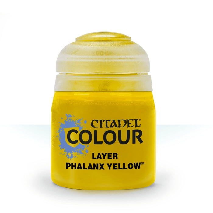 Citadel Layer Paint, 12ml Flip-Top Bottle - Phalanx Yellow