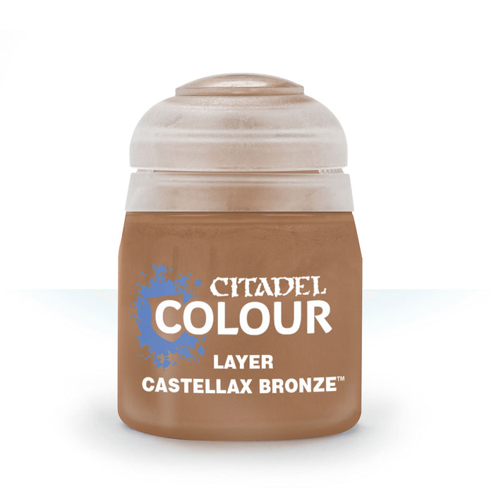 Citadel Layer Paint, 12ml Flip-Top Bottle - Castellax Bronze