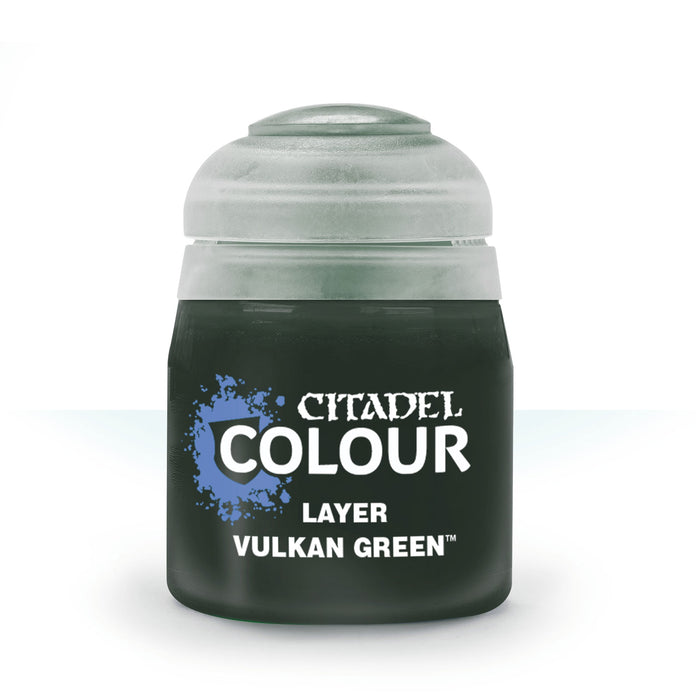 Citadel Layer Paint, 12ml Flip-Top Bottle - Vulkan Green