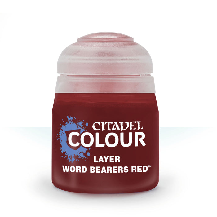 Citadel Layer Paint, 12ml Flip-Top Bottle - Word Bearers Red