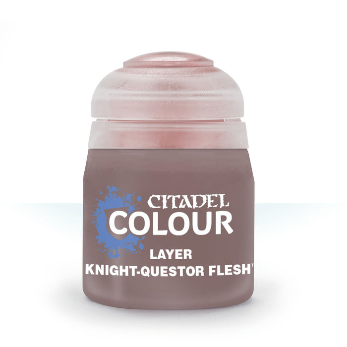 Citadel Layer Paint, 12ml Flip-Top Bottle - Knight-Questor Flesh