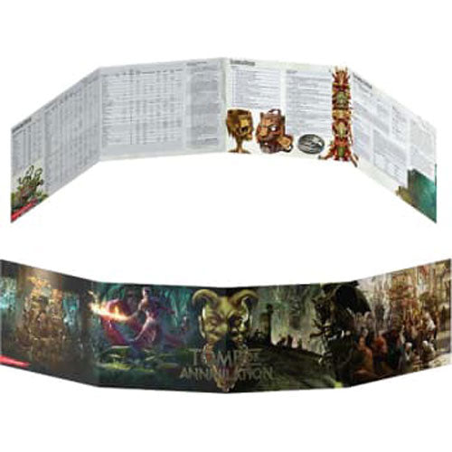 Dungeons and Dragons RPG: Tomb of Annihilation DM Screen