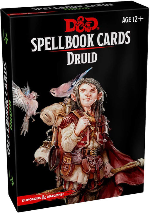 Dungeons and Dragons RPG Spellbook Cards - 131 Card Druid Deck